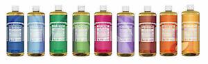 Dr Bronner Organic Moisturising Pure Castile Liquid Natural Vegan BodySoap 946ml