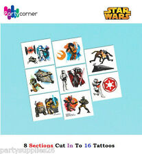 Star Wars Party Supplies TATTOOS SHEET