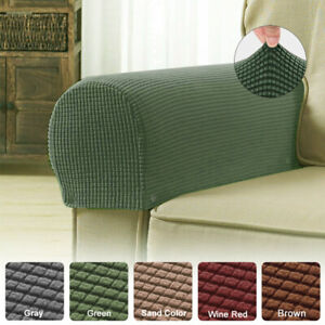 Universal Chair Arm Protector Cover Sofa Couch Armchair Covers Armrest Stretch