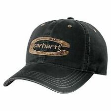 Carhartt Cedarville Cap – Washed Black Carhartt 101470 – Gravel Mens baseball ca