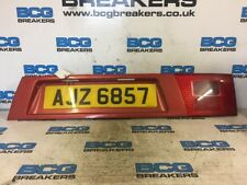 2003 SEAT ALHAMBRA 1.9TDI NUMBER PLATE HOLDER  AND TAIL LIGHT
