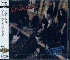 CINDERELLA HEARTBREAK STATION Japan RMST 2012 SHM HIGH FIDELITY CD GIFT PERFECT!