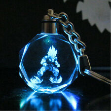 Anime Dragonball Z LED Keychains (7 colors cycling) Keyrings Pendant Cosplay Toy