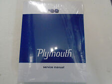 1968 Plymouth Valiant Signet Barracuda Belvedere Service Shop Repair Manual New