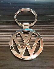 VW VOLKSWAGEN Portachiavi logo argento 38mm ORIGINALE