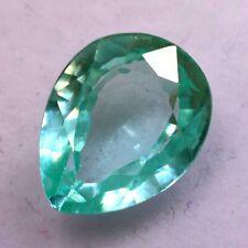 Natural 3.65 Ct Certified Ceylon Green Sapphire UNHEATED Loose Gemstones