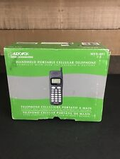 Vintage AUDIOVOX COMMUNICATIONS CORP. MVX-401 Analog Mobile Cell Phone.