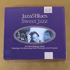 JAZZ & BLUES - SWEET JAZZ - 2CD - 1998 BIEM/STEMRA - OTTIMO CD [AM-014]