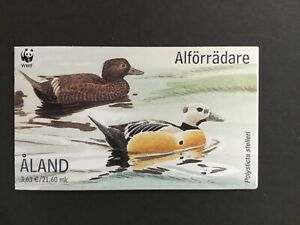 2001 Aland WWF- Ducks Booklet MNH  Perfect Condition