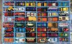 Vintage Matchbox Carry Case 48 Superfast Diecast Lot (Nice Cars & Rough Case)