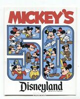 Disneyland MICKEY Mouse 50 years STICKER -1928-1978 -