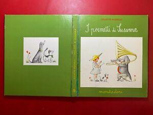 Colette ROSSELLI - I POEMETTI DI SUSANNA Mondadori (1° Ed 1958) Libro illustrato