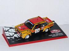 voiture 1/43 IXO altaya Rallye Monte Carlo FIAT 131 Abarth calberson 1980 Mouton