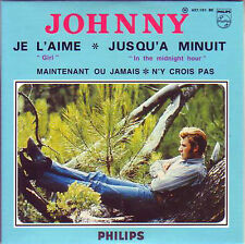 ☆ CD Single Johnny HALLYDAY The BEATLES Je l'aime ( Girl ) 4-track CARD SLEEVE