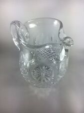 """Waterford Lismore Crystal Ice Lip Pitcher 6.5"""" Tall"""