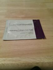 1 packet Wilma Schumann Hydrating Collagen Eye Pads treatment Sample 1 pair