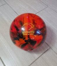 New listing Vintage Ebonite Maxim Swirl Undrilled Bowling Ball 8 lb