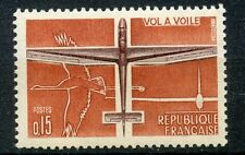 STAMP / TIMBRE FRANCE NEUF LUXE °° N° 1340 ** AVION / AVIATION / VOL A VOILE