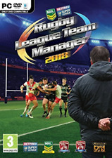 IBM/PC-RUGBY LEAGUE TEAM MANAGER 2018  (UK IMPORT)  GAME NEW
