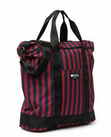 LeSportsac Top Zip Tote Montana Navy Stripe Red Laptop Sleeve ECO Bag New W/ Tag