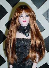 """Doll Wig, Monique """"Karley"""" Size 6/7 in Golden Auburn (NEW!)"""