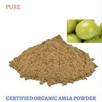 200 Gram Certified Organic Amla powder - Emblica officinalis - Free Shipping