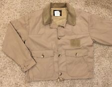 Vintage Woolrich Canvas Duck Hunting Jacket Coat Men's M USA