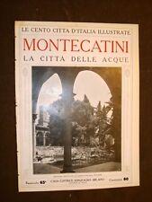 Montecatini, la città delle acque - Le Cento Città d'Italia illustrate