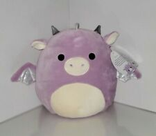 "Squishmallow 12"" Dina Dragon plush kellytoy  limited edition NWT RARE"