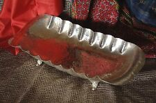 Old Silver Plated Lebanese Tray / Dish Bowl …beautiful table center piece