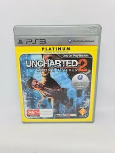 UNCHARTED 2: AMONG THIEVES Playstation 3 PS3 Complete VGC Free Tracked Shipping