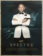 Affiche 007 SPECTRE James Bond DANIEL CRAIG Lea Seydoux 40x60cm *