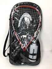Head Titanium Ti-Laser Racquetball Racket 35/8 Grip w/ Googles & Water Bottle