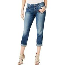 GUESS Womens Tomboy Blue Denim Dark Wash Button Fly BOYFRIEND Jeans 27 BHFO 2949