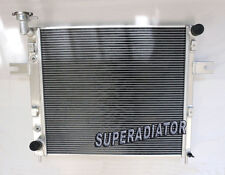 2 ROW fit for 1999-2004 Jeep Grand Cherokee 4.0L L6 Aluminum Radiator New AT MT
