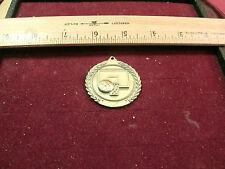 """1998 Mic Basketball Sports Medal/Medallion -1.75"""" diameter"""