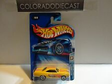 2004 Hot Wheels #169 Yellow Collectors.com 1970 Plymouth Roadrunner w/5 Spokes