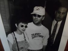 BLACK AND WHITE PROMO PHOTO HUSBAND AND WIFE  BRUCE AND DEMI [PLANET HOLLYWOOD]
