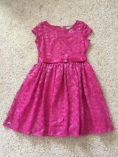Girls Size 12 American Girl Dress (hot Pink)