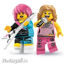 Lego Rocker Girl & Pop Star Singer Minifigures 8684 8831 NEW