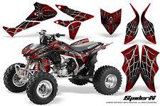 HONDA TRX450R TRX 450 R 2004-2016 GRAPHICS KIT CREATORX STICKERS SPIDERX RED