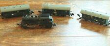 ROKAL TT Spur Lokomotive mit 3 Anhängern Personenwagen
