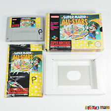 Super Mario All-Stars - Complete in Box - TESTED - Super Nintendo SNES Game PAL