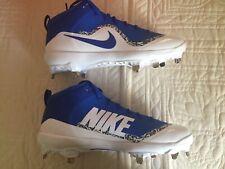 Nike Air Huarache 2K Filth Elite Low Metal Baseball Cleats Size 11.5 Blue New