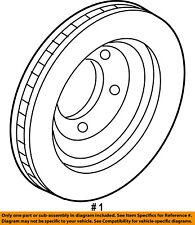 FORD OEM Front Brake-Disc Rotor 2U2Z1V125BB