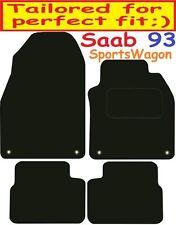 SAAB 9-3 SPORTSWAGON Deluxe Su Misura Qualità Tappetini Auto 2002-2010 Estate