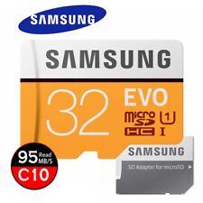 Samsung Evo 32GB Micro SD Card microSDHC Class10 Camera Memory 95MB/s 2017
