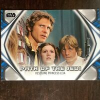 2019 Topps Star Wars Skywalker Saga Path of the Jedi Rescuing Princess Leia PJ-1