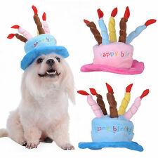 Pet Dog Cat Birthday Hat Pet Cat Puppy Cute Hat Headdress For All Breeds Dog