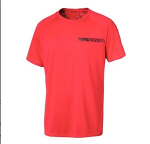 Puma Moisture Management Men's slim fit T Shirt . Size: MEDIUM